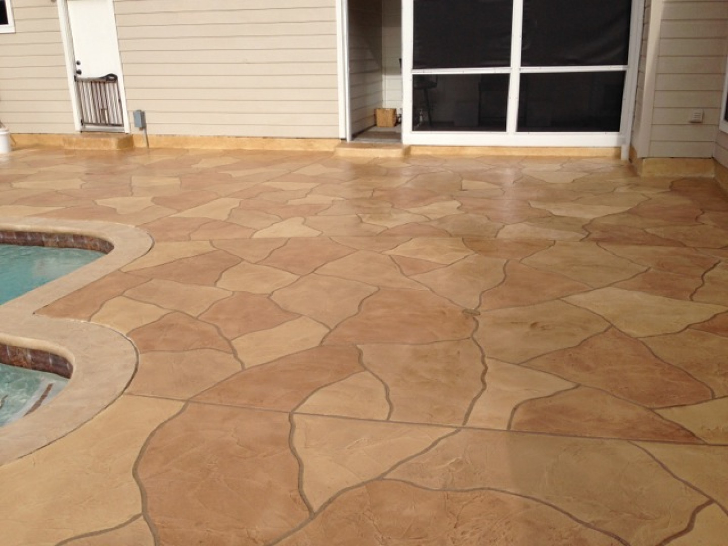decorative concrete magnolia tx the woodlands tx